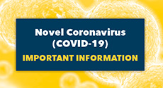 Important information regarding the novel coronavirus