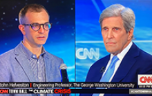 helveston and kerry discussion on CNN