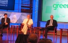 Professor Scott Sklar discusses renewable energy at the 2016 GreenGov conference