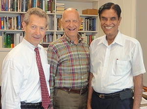 Profs. Joe Cascio, David Nagel and Ashraf Imam discuss cold fusion collaboration.