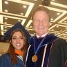 Prof. Deason with EEM Graduate Nassim Khalili